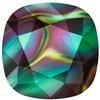 Swarovski 4470 Cushion Cut Square Fancy Stone Crystal Rainbow Dark 10mm