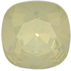 Swarovski 4470 Cushion Cut Square Fancy Stone White Opal Chamapagne 12mm