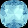 Dreamtime Crystal DC 4470 Cushion Cut Square Fancy Stone Aquamarine 10mm