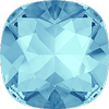 Dreamtime Crystal DC 4470 Cushion Cut Square Fancy Stone Aquamarine 12mm