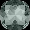 Dreamtime Crystal DC 4470 Cushion Cut Square Fancy Stone Black Diamond 10mm