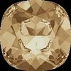 Dreamtime Crystal DC 4470 Cushion Cut Square Fancy Stone Crystal Golden Shadow 12mm