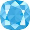 Swarovski 4470 Cushion Cut Square Fancy Stone Crystal Summer Blue 12mm