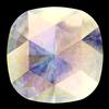 Swarovski 4471 Rose Cut Cushion Fancy Stone Crystal AB 10mm