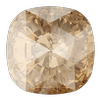 Swarovski 4471 Rose Cut Cushion Fancy Stone Crystal Golden Shadow 10mm