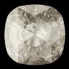 Swarovski 4471 Rose Cut Cushion Fancy Stone Crystal Silver Shade 12mm