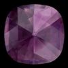 Swarovski 4471 Rose Cut Cushion Fancy Stone Amethyst Ignite 10mm