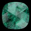 Swarovski 4471 Rose Cut Cushion Fancy Stone Emerald 10mm