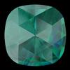 Swarovski 4471 Rose Cut Cushion Fancy Stone Emerald Ignite 10mm