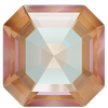 Swarovski 4480 Imperial Fancy Stone Crystal Cappuccino DeLite 8mm
