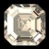 Swarovski 4480 Imperial Fancy Stone Crystal Golden Shadow 8mm