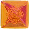 Swarovski 4481 Vision Square Fancy Stone Crystal Astral Pink 12mm