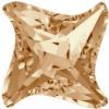 Swarovski 4485 Twister Fancy Stone Crystal Golden Shadow 10.5mm