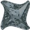 Swarovski 4485 Twister Fancy Stone Crystal Silver Night 10.5mm