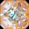 Swarovski 4499 Kaleidoscope Square Fancy Stone 6mm Crystal Peach DeLite
