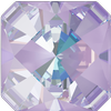 Swarovski 4499 Kaleidoscope Square Fancy Stone 6mm Crystal Lavender DeLite
