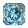 Swarovski 4499 Kaleidoscope Square Fancy Stone 10mm Aquamarine