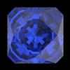 Swarovski 4499 Kaleidoscope Square Fancy Stone 6mm Majestic Blue