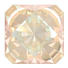 Swarovski 4499 Kaleidoscope Square Fancy Stone 6mm Crystal Ivory Cream DeLite