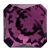 Swarovski 4499 Kaleidoscope Square Fancy Stone 20mm Amethyst