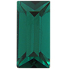 Swarovski 4500 Baguette Fancy Stone Emerald (Gold Foil) 10x3mm
