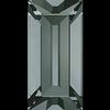 Dreamtime Crystal DC 4501 Baguette Fancy Stone Black Diamond 4x2mm