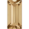 Dreamtime Crystal DC 4501 Baguette Fancy Stone Crystal Golden Shadow 7x3mm