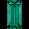 Dreamtime Crystal DC 4501 Baguette Fancy Stone Emerald 7x3mm