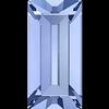 Dreamtime Crystal DC 4501 Baguette Fancy Stone Light Sapphire 7x3mm