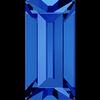 Dreamtime Crystal DC 4501 Baguette Fancy Stone Sapphire 7x3mm