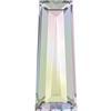 Swarovski 4503 Tapered Baguette Fancy Stone Crystal AB 4x2mm