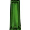 Swarovski 4503 Tapered Baguette Fancy Stone Dark Moss Green 4x2mm