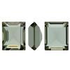 Swarovski 4510 Baguette Double Cut Fancy Stone Black Diamond Unfoiled 12x10mm