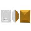 Swarovski 4510 Baguette Double Cut Fancy Stone Crystal (Gold Foiled) 12x10mm