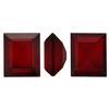 Swarovski 4510 Baguette Double Cut Fancy Stone Siam Unfoiled 12x10mm
