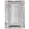 Swarovski 4521 Rectangle Fancy Stone Crystal (Gold Foil) 10x8mm