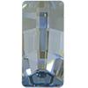 Swarovski 4524 Pure Baguette Fancy Stone Crystal Blue Shade 23x11mm