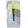 Swarovski 4524 Pure Baguette Fancy Stone Crystal AB 12x6mm