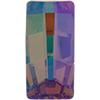 Swarovski 4524 Pure Baguette Fancy Stone Crystal Purple Haze 16x8mm