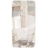 Swarovski 4524 Pure Baguette Fancy Stone Crystal Silver Shade 23x11mm