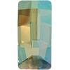 Swarovski 4524 Pure Baguette Fancy Stone Crystal Verde 16x8mm
