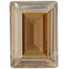 Swarovski 4527 Step Cut Fancy Stone Crystal Golden Shadow 18x13mm