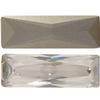 Swarovski 4547 Princess Baguette Fancy Stone Crystal Silver Shade 21x7mm