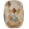 Swarovski 4565 Classic Baguette Fancy Stone Crystal Golden Shadow 14x10mm