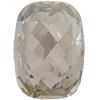 Swarovski 4565 Classic Baguette Fancy Stone Crystal Silver Shade 18x13mm