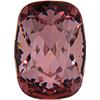 Swarovski 4568 Cushion Fancy Stone Crystal Antique Pink 14x10mm