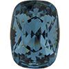 Swarovski 4568 Cushion Fancy Stone Denim Blue 14x10mm