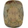 Swarovski 4568 Cushion Fancy Stone Crystal Golden Shadow 14x10mm