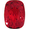 Swarovski 4568 Cushion Fancy Stone Light Siam 14x10mm