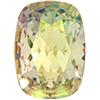 Swarovski 4568 Cushion Fancy Stone Crystal Luminous Green 14x10mm